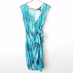 BCBGMaxAzria | Marian Faux Wrap Dress Size XS
